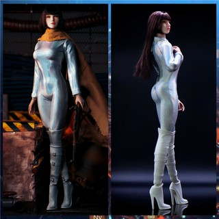 E LIFSTOYS 1/6 Tights Jumpsuit Clothes Fit 12inch Female Phicen Action Figure Body
