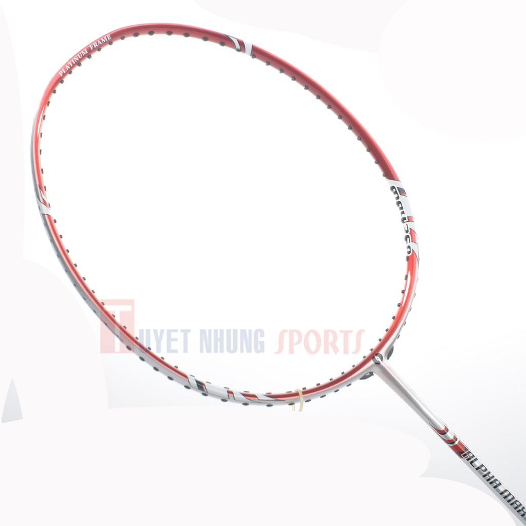 Vợt cầu lông Bigpro Alpha Max 268 (Đỏ bạc) (không có cước)