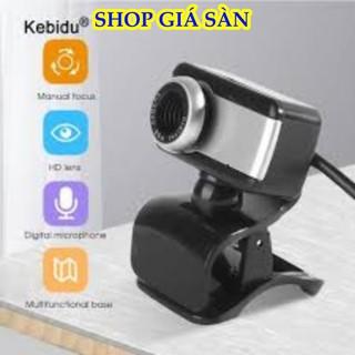 [Freeship] Webcam, Camera Cho Pc Chân Kẹp Tiện Lợi Giá Rẻ - Full Hd thumbnail