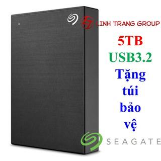 [Mã ELMSDAY giảm 6% đơn 2TR] Ổ cứng di động USB3.2 Seagate One Touch 5TB - tặng túi bảo vệ - bảo hành 2 năm - SD90