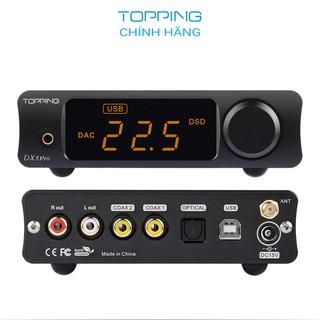 Thiết bị giải mã và tăng âm Topping DX3 Pro LDAC v2 - Hàng chính hãng thumbnail