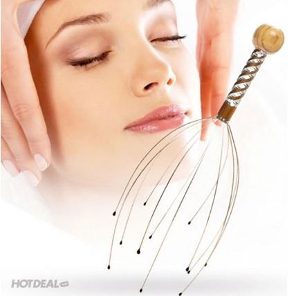 Dụng cụ massage đầu tiện dụng