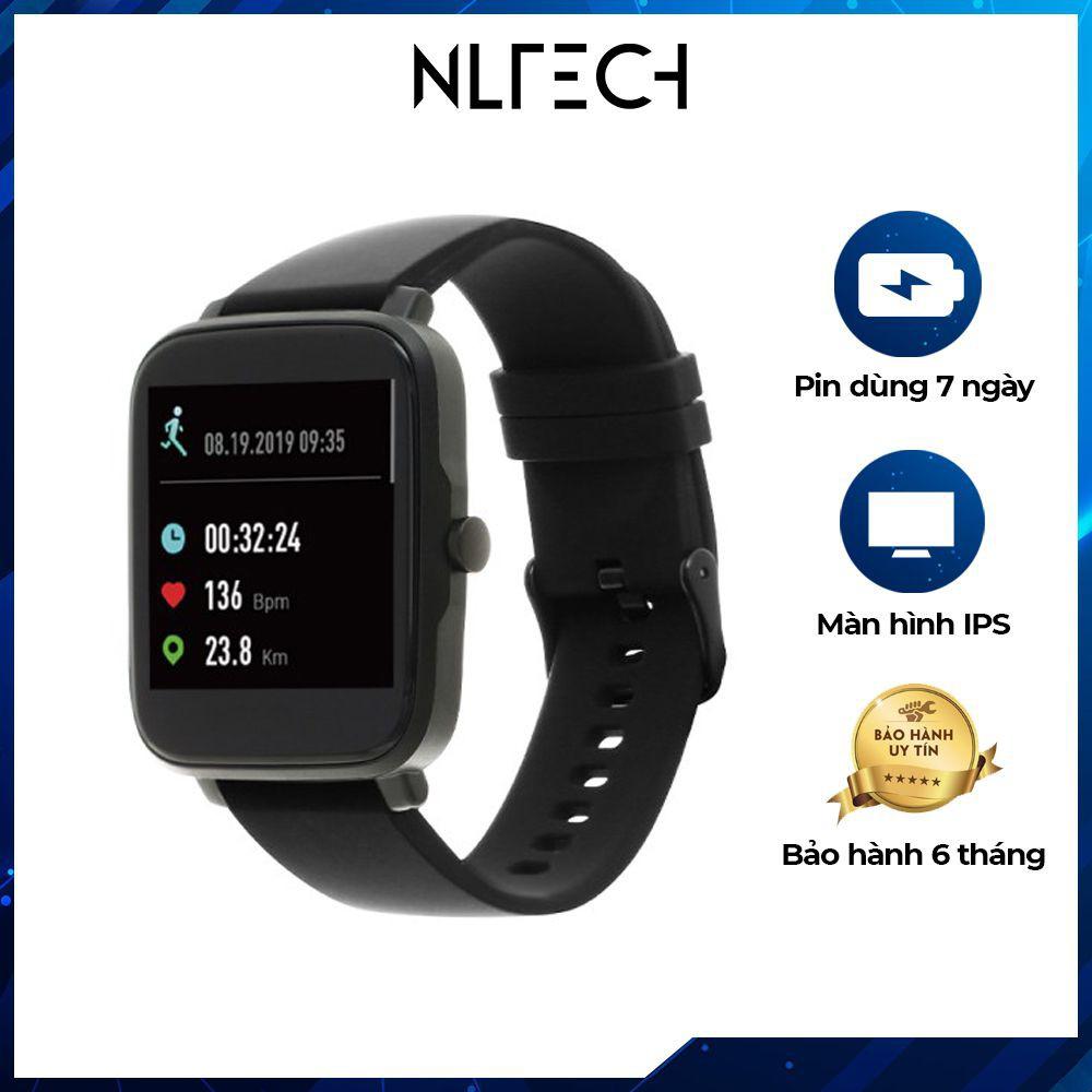 HÀNG CAO CẤP ] Đồng hồ thông minh BeU B2 Đen - Bảo hành 6 tháng - Đồng hồ  thông minh