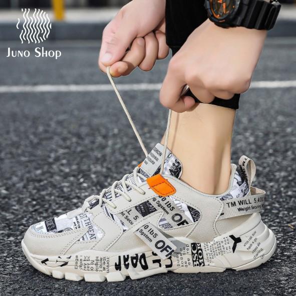 [ Freeship-Tặng tất] Giày thể thao nam tăng 3 phân chiều cao mới thoáng khí sneaker nam style Hàn Quốc hot trend 2020