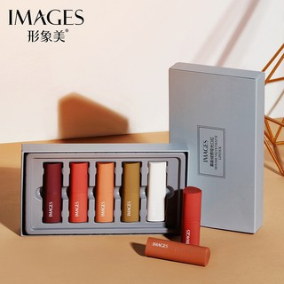 Set Son Lì 5 Cây IMAGES Màu Siêu Đẹp Nội Địa trung Màu Hot Trend Nội Địa Trung thumbnail
