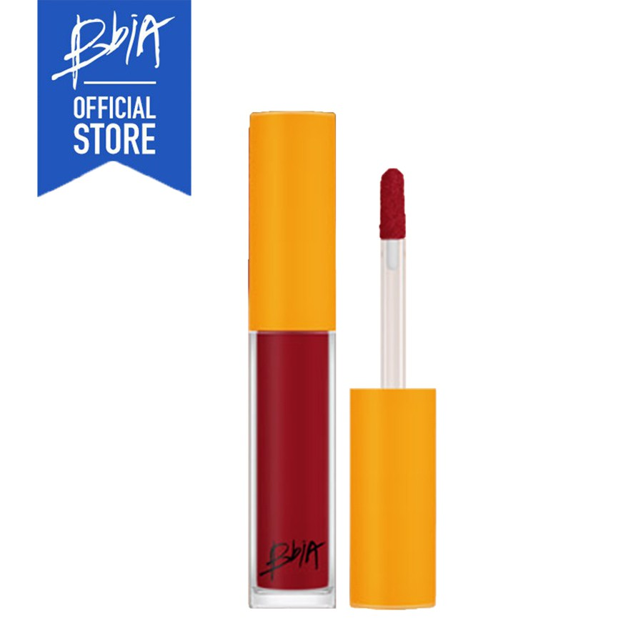 [ DIỆN MẠO MỚI] Son kem lì Bbia Last Lip Mousse - 10 Burgundy 3.7g (Màu đỏ rượu)