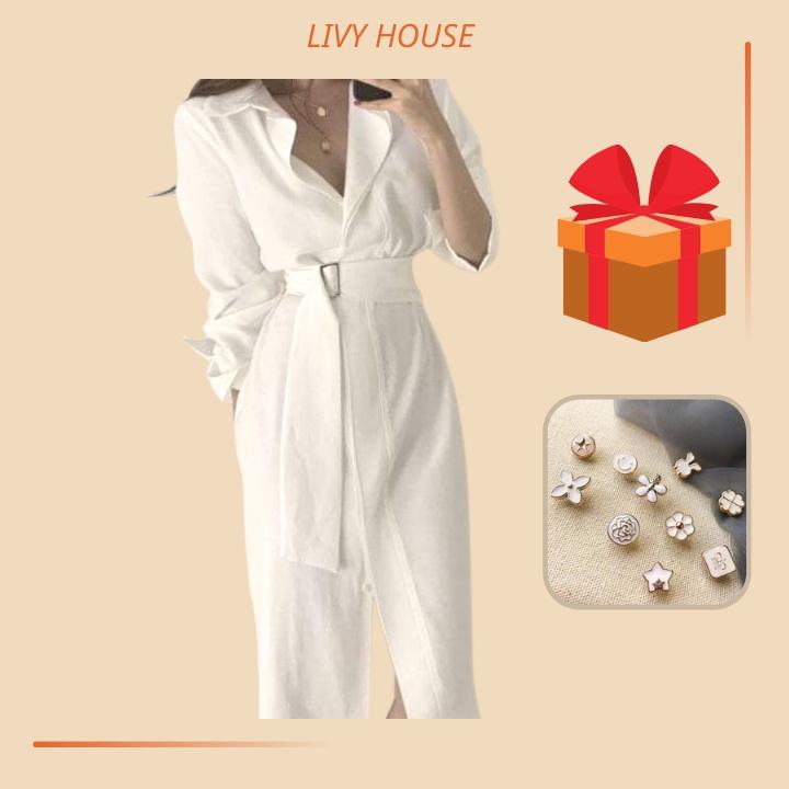 Mặc gì đẹp: Sang trọng với Váy sơ mi 🌸 ĐẸP - ĐỘC - RẺ 🌸 Đầm công sở thiết kế dài đẹp, thanh lịch, cá tính, chất lụa chéo