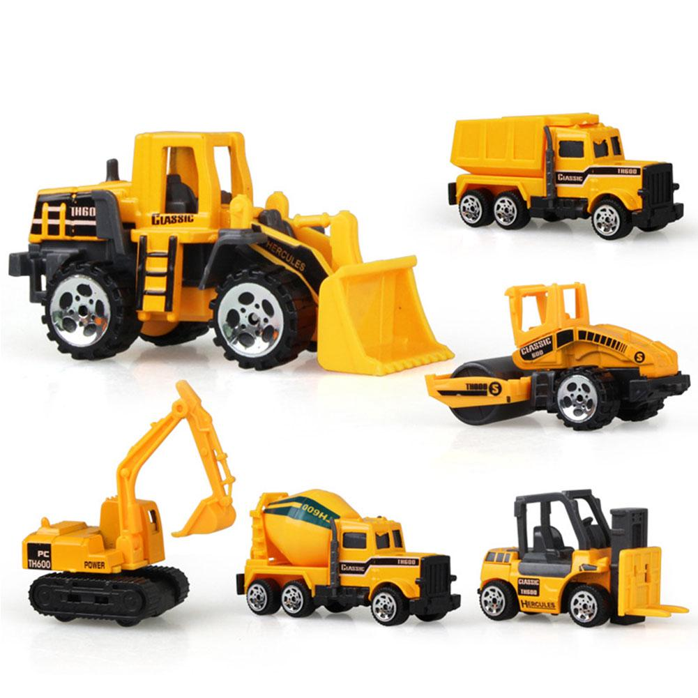 1:64 Alloy Construction Truck Excavator Digger Demolition Vehicle Kids Toy