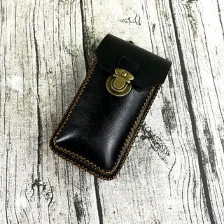 Túi đeo hông, túi đeo thắt lưng đựng điện thoại da bò handmade – Kichi