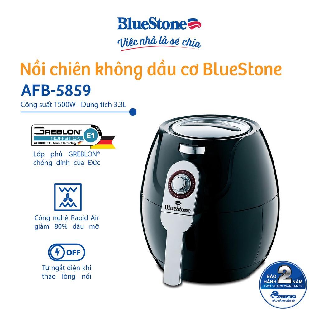Nồi Chiên Không Dầu Công Nghệ Mới Bluestone AFB-5859 3.3L