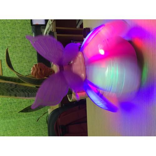 Đồ chơi Cô tiên nhảy múa có nhạc xoay 360 độ (Hồng)