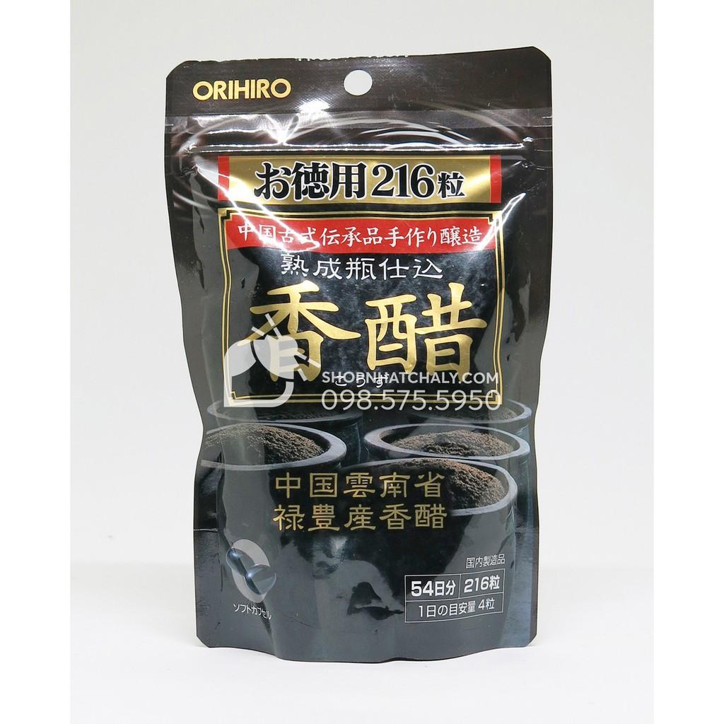 Viên dấm đen giảm cân Nhật Bản Orihiro 216 viên - 2890930 , 106172242 , 322_106172242 , 385000 , Vien-dam-den-giam-can-Nhat-Ban-Orihiro-216-vien-322_106172242 , shopee.vn , Viên dấm đen giảm cân Nhật Bản Orihiro 216 viên