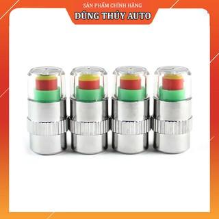 Bộ 4 van báo động áp suất lốp xe hơi chất lượng cao - Thiết bị theo dõi áp suất bánh xe thumbnail