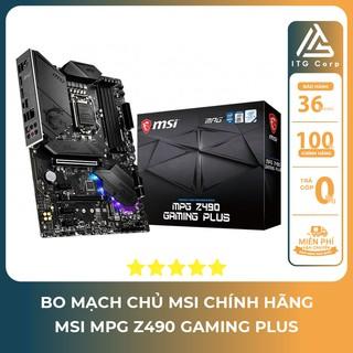 Bo mạch chủ - Mainboard MSI MPG Z490 GAMING PLUS (Intel Z490, Socket 1200, ATX, 4 khe RAM DDR4 thumbnail