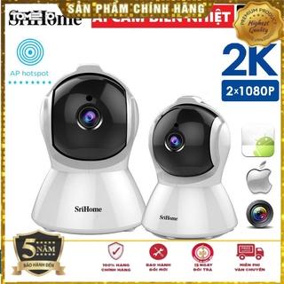 Camera Sricam SH025 Full HD 1080p - Chuẩn 2.0 Mpx quay đêm đàm thoại 2 chiều - Tích Hợp Cảm Biến AI Thông Min thumbnail