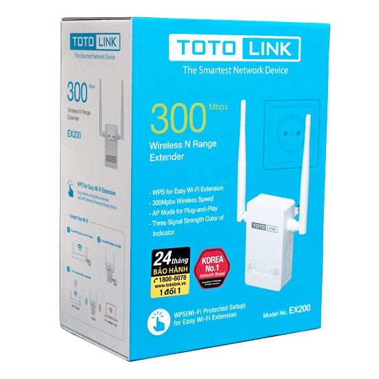 Bán Bộ phát wifi totolink ex200 giá rẻ 200 000₫ | HangMayTinh Com