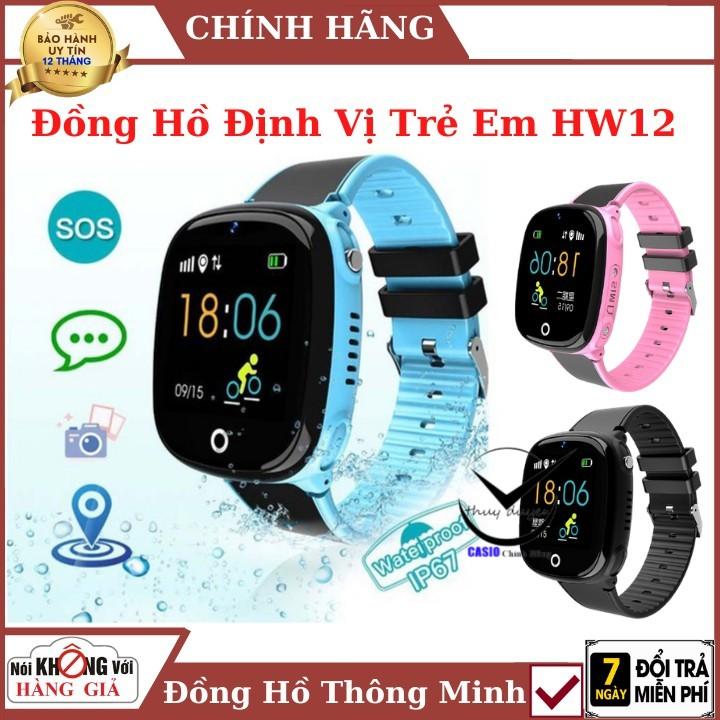 Đồng hồ thông minh định vị trẻ em HW11 , lắp sim nghe gọi , Định Vị GPS , chống nước ip67 , Bảo hành chính hãng
