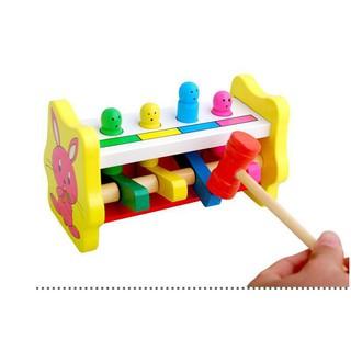 [ HOT DEAL ] Bộ đập chuột – đồ chơi gỗ thông minh