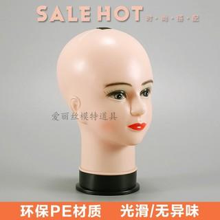 Mô Hình Đầu Búp Bê Nữ Tóc Giả