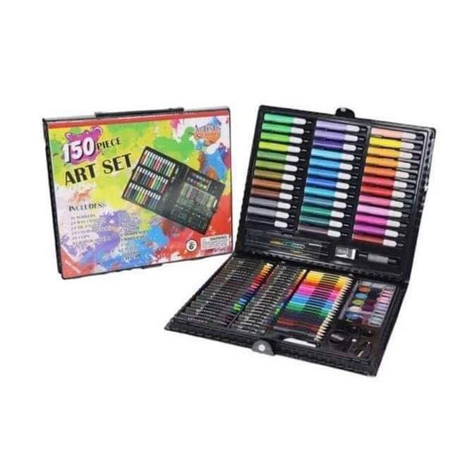Bộ hộp màu 150 chi tiết cho bé tô vẽ thỏa thích