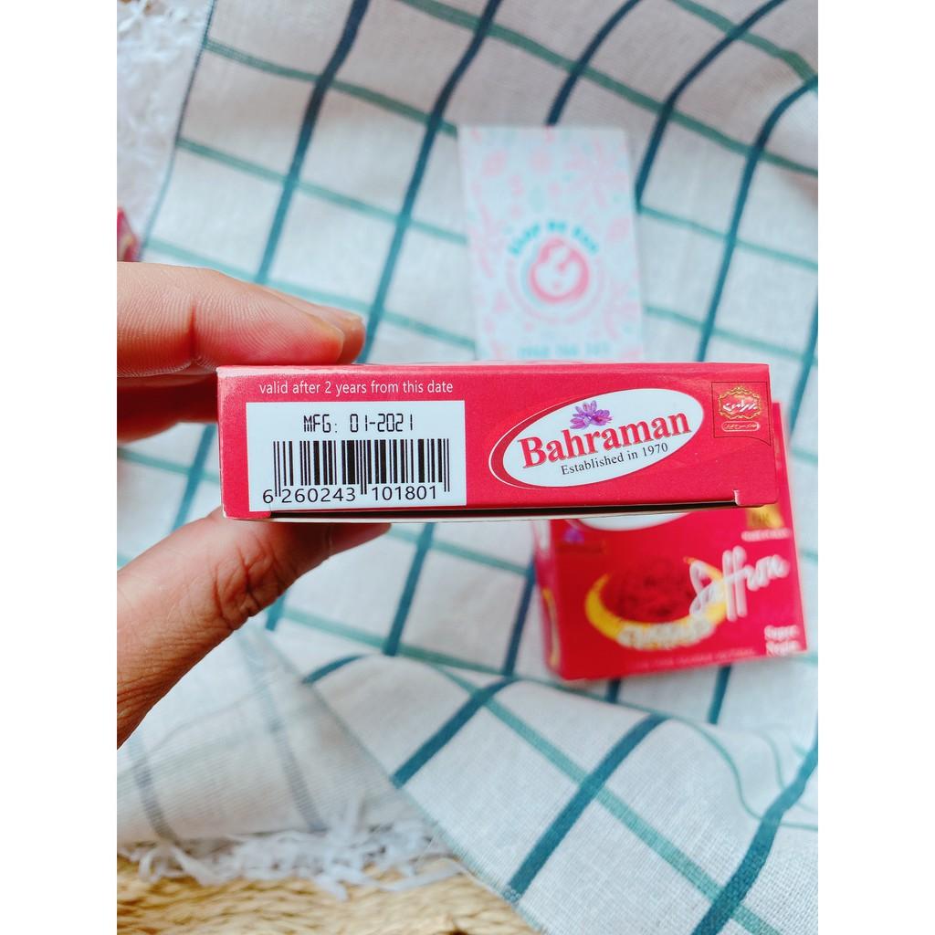CHÍNH HÃNG] Nhụy Hoa Nghệ Tây Saffron Bahraman Super Negin Hộp 1G sản xuất  tại Iran   Nông Trại Vui Vẻ - Shop