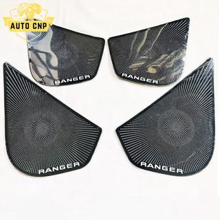 Ốp màng loa cho xe FORD RANGER chất liệu thép mạ TITAN, bảo vệ khu vực loa sạch sẽ không bụi bặm AUTO CNP thumbnail
