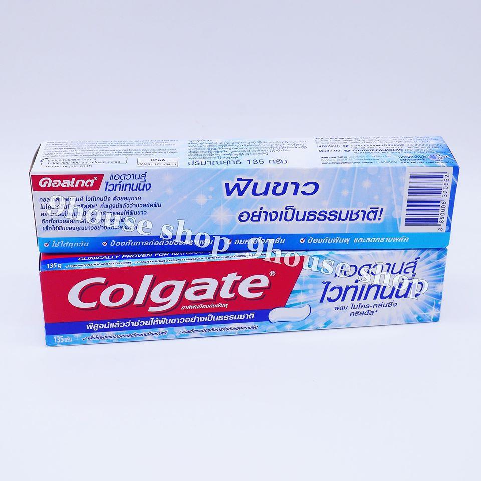 Kem Đánh Răng Colgate Thái Lan Advanced Whitening 135gram