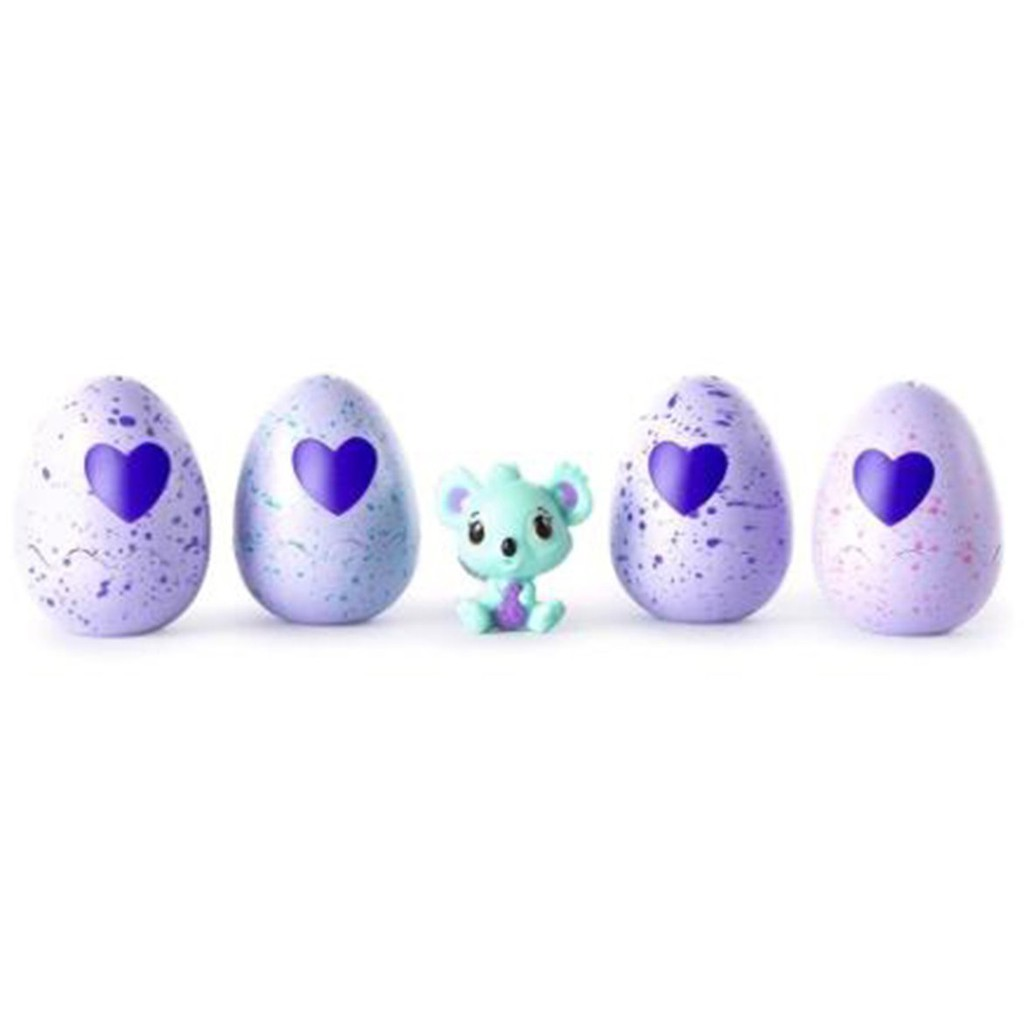 💯4pcs Re-useable Magic Hatch Egg Collect with A Little Cute Pet Children's Toys