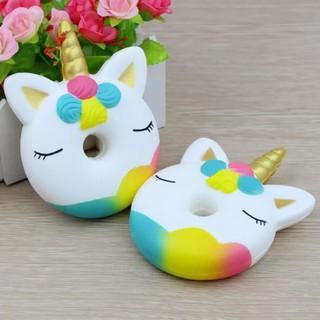 Jumbo Squishy Unicorn Doughnut Toys