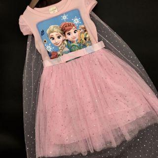 Váy công chúa Elsa hàng Quảng Châu cao cấp