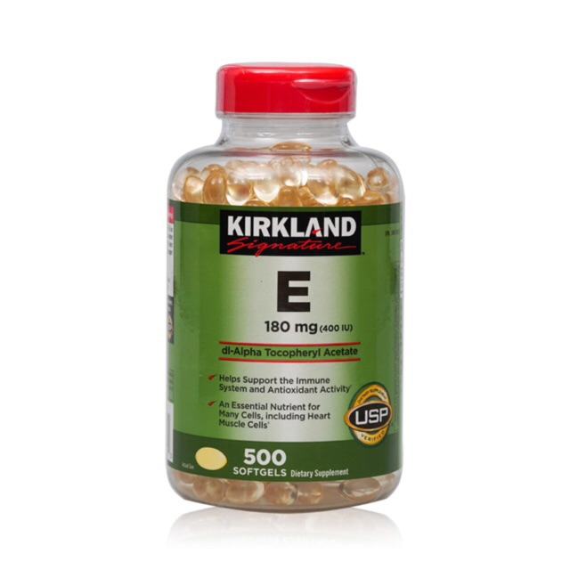 Viên uống vitamin E 400 I.U Kirkland