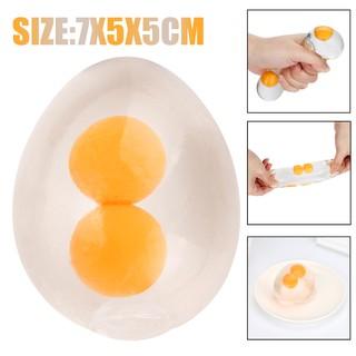 Funky Egg Splat Ball Squishy Toys Stress Relief Eggs Yolk Balls For Children