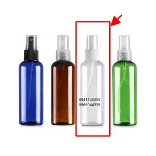 HÀNG SẴN-Chai xịt phun sương 30ml 50ml 100ml chiết mỹ phẩm, tinh dầu cồn gel rửa tay