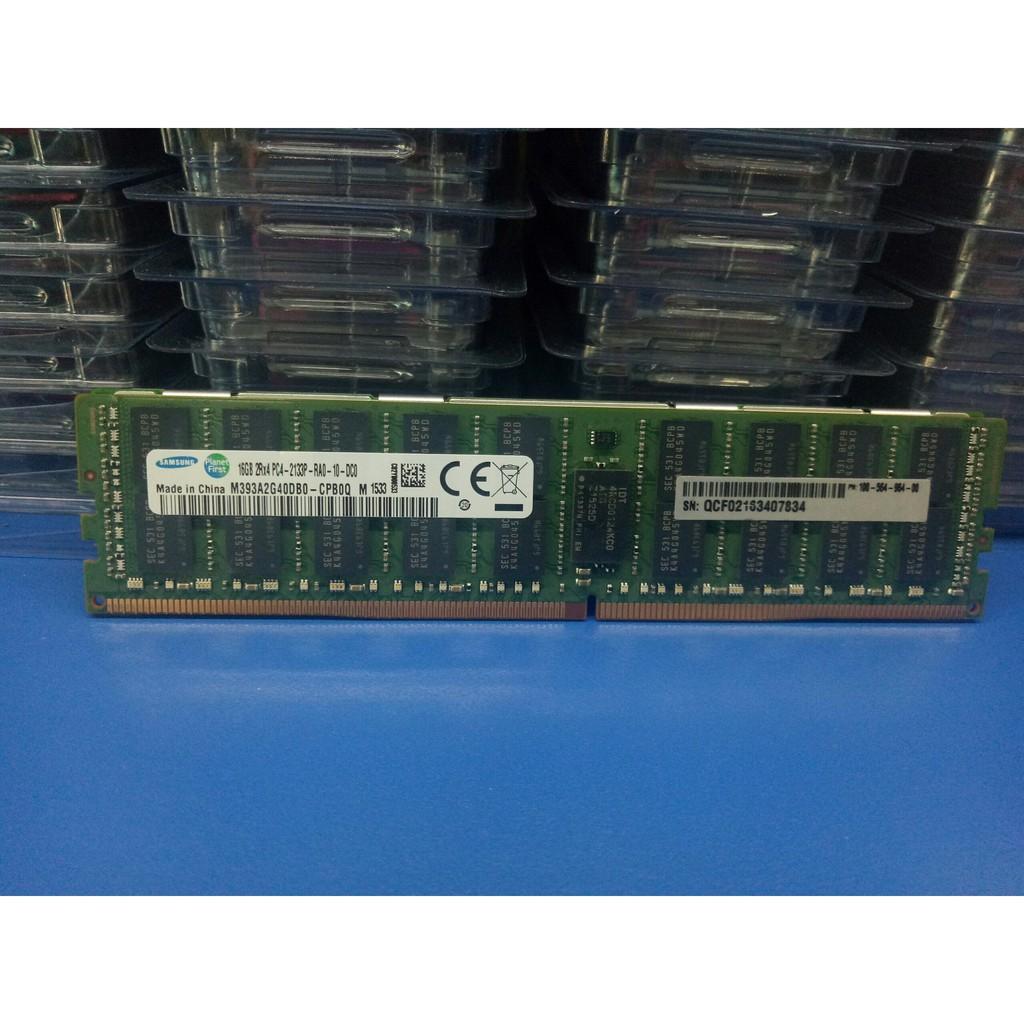 Ram Samsung-SK Hynix DDR4 16GB bus 2133Mhz REG ECC Cho Workstation