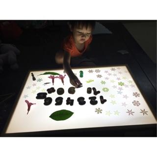 Bàn Ánh Sáng_ Đồ chơi giáo dục cho trẻ nhỏ ( tặng kèm đồ chơi)