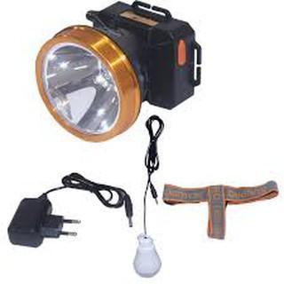 Đèn Pin Đội Đầu 20 Watt Evatech Cổng Usb