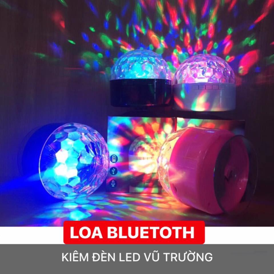 LOA BLUETOOTH KIÊM ĐÈN LED VŨ TRƯỜNG