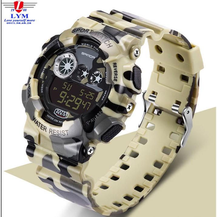 Đồng hồ SANDA SD2999 nam thể thao không thấm nước
