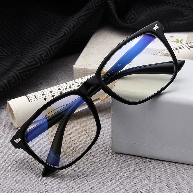 37ddo PC Frame Glasses Blue Film Myopia Glasses Frame