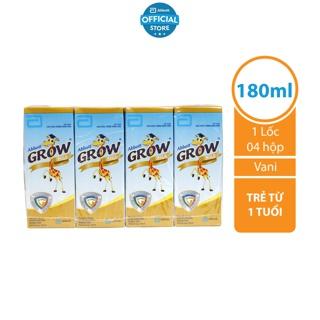 Lốc 4 hộp Sữa nước Abbott Grow Gold 180ml hộp thumbnail
