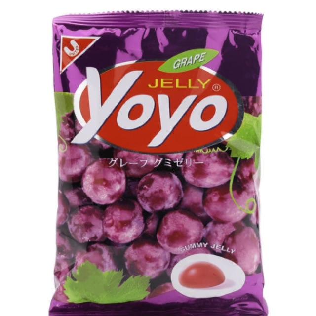 Kẹo dẻo nho Jelly Yoyo 80g