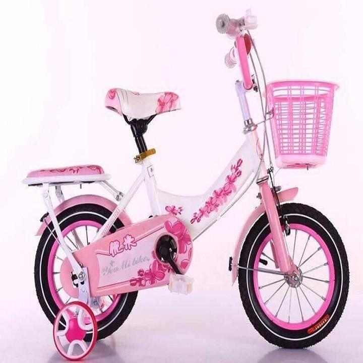 Xe đạp nữ h a i gióng ngắn - xe đạp trẻ em