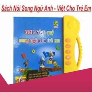 [Giảm 9k cho đơn từ 99k]Sách Nói Điện Tử Song Ngữ Anh Việt Cho Bé .