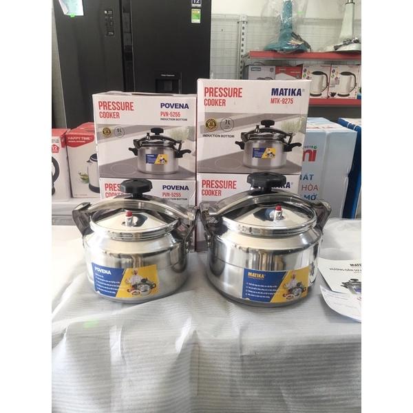 Nồi áp suất đáy từ Povena PVN-5255 (5L) hàng chính hãng bảo hành 12 tháng
