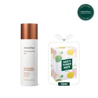 Nước cân bằng dưỡng sáng da 3 trong 1 innisfree Brightening Pore Skin 150ML