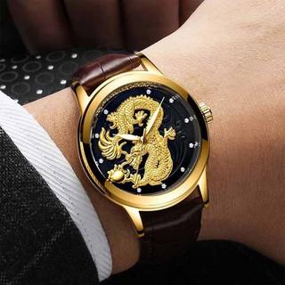 Đồng hồ nam đeo tay FNGEEN mặt rồng sang trọng