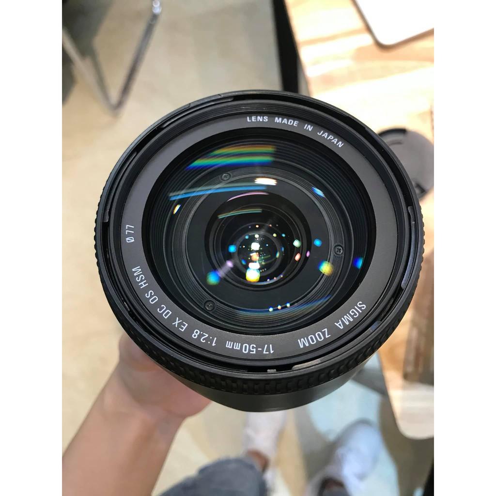 Ống kính SIGMA 17-50 f2.8 for Canon đẹp như mới