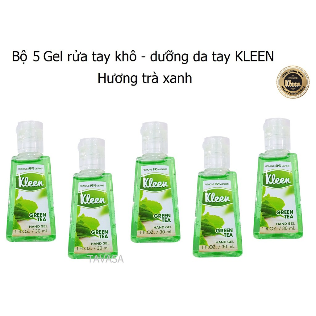 Bộ 5 Gel rửa tay Kleen 30ml (Hương Trà xanh) - HÀNG CHÍNH HÃNG - 3068200 , 1041752806 , 322_1041752806 , 150000 , Bo-5-Gel-rua-tay-Kleen-30ml-Huong-Tra-xanh-HANG-CHINH-HANG-322_1041752806 , shopee.vn , Bộ 5 Gel rửa tay Kleen 30ml (Hương Trà xanh) - HÀNG CHÍNH HÃNG