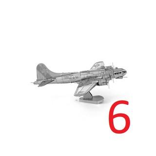 Bộ mô hình 3D lắp ráp máy bay bằng thép