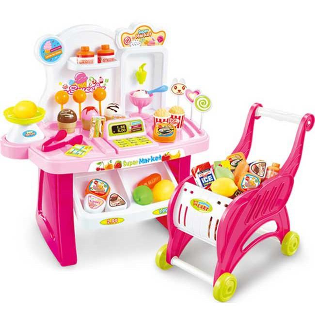 Hộp đồ chơi máy tính tiền quầy kem và xe đẩy siêu thị có đèn nhạc - 2838966 , 1162481558 , 322_1162481558 , 250000 , Hop-do-choi-may-tinh-tien-quay-kem-va-xe-day-sieu-thi-co-den-nhac-322_1162481558 , shopee.vn , Hộp đồ chơi máy tính tiền quầy kem và xe đẩy siêu thị có đèn nhạc